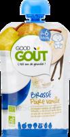 Good Goût Alimentation Infantile Brassé Poire Vanille Gourde/90g à VANNES