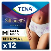 Tena Lady Silhouette Slip Absorbant Blanc Normal Médium Paquet/12 à VANNES