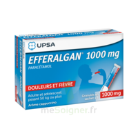 Efferalgan 1g Cappuccino Granules 8 Sachets à VANNES