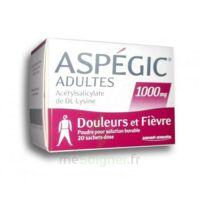 Aspegic Adultes 1000 Mg, Poudre Pour Solution Buvable En Sachet-dose 20 à VANNES