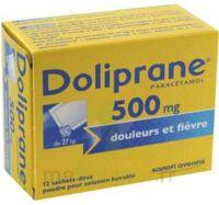 Doliprane 500 Mg Poudre Pour Solution Buvable En Sachet-dose B/12 à VANNES