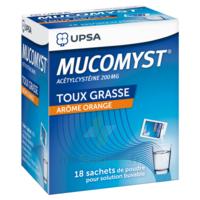 Mucomyst 200 Mg Poudre Pour Solution Buvable En Sachet B/18 à VANNES