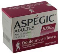 Aspegic Adultes 1000 Mg, Poudre Pour Solution Buvable En Sachet-dose 15 à VANNES