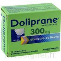 Doliprane 300 Mg Poudre Pour Solution Buvable En Sachet-dose B/12 à VANNES