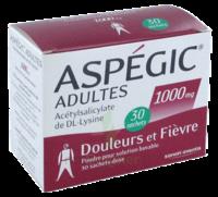 Aspegic Adultes 1000 Mg, Poudre Pour Solution Buvable En Sachet-dose 30 à VANNES