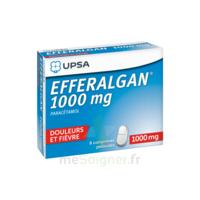 Efferalgan 1000 Mg Comprimés Pelliculés Plq/8 à VANNES