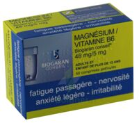 Magnesium/vitamine B6 Biogaran Conseil 48 Mg/5 Mg, Comprimé Pelliculé à VANNES