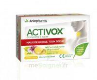 Activox Comprimés à Sucer Citron B/24 à VANNES