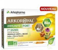 Arkoroyal Immunité Fort Solution Buvable 20 Ampoules/10ml à VANNES