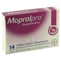 Mopralpro 20 Mg Cpr Gastro-rés Film/14 à VANNES