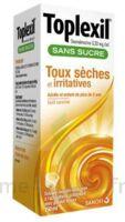 Toplexil 0,33 Mg/ml Sans Sucre Solution Buvable 150ml à VANNES