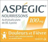 Aspegic Nourrissons 100 Mg, Poudre Pour Solution Buvable En Sachet-dose à VANNES