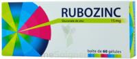 Rubozinc 15 Mg Gél 1plq/60 à VANNES