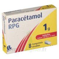 Paracetamol Rpg 1 G, Comprimé Sécable à VANNES