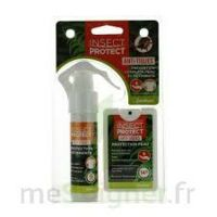Insect Protect Spray Peau + Spray VÊtements Fl/18ml+fl/50ml à VANNES