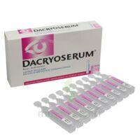 Dacryoserum Solution Pour Lavage Ophtalmique En Récipient Unidose 20unidoses/5ml à VANNES