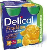 Delical Boisson Fruitee Nutriment édulcoré Orange 4bouteilles/200ml à VANNES