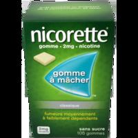 Nicorette 2 Mg Gom à Mâcher Médic Sans Sucre Menthe Fraîche Plq/105gom à VANNES