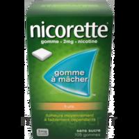 Nicorette 2 Mg Gomme à Mâcher Médicamenteuse Sans Sucre Fruits Plq/30 à VANNES