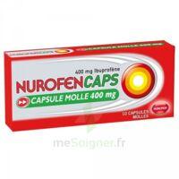 Nurofencaps 400 Mg Caps Molle Plq/10 à VANNES