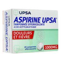 Aspirine Upsa Tamponnee Effervescente 1000 Mg, Comprimé Effervescent à VANNES