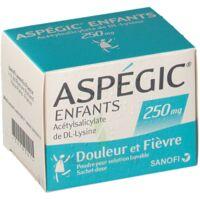Aspegic Enfants 250, Poudre Pour Solution Buvable En Sachet-dose à VANNES