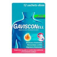 Gavisconell Suspension Buvable Sachet-dose Menthe Sans Sucre 12sach/10ml à VANNES