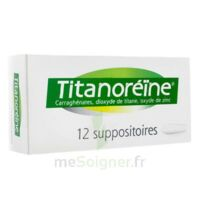 Titanoreine Suppositoires B/12 à VANNES
