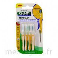 Gum Trav - Ler, 1,3 Mm, Manche Jaune , Blister 4 à VANNES