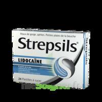 Strepsils Lidocaïne Pastilles Plq/24 à VANNES