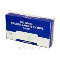 Cooper Abaisse-langue Bois Adulte B/100 à VANNES