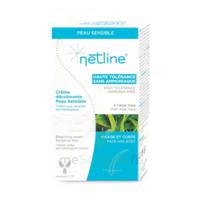 Netline Crème Visage/corps Décolorante Peau Sensible 30+30ml à VANNES