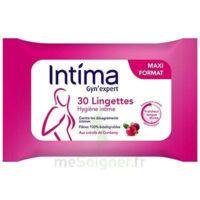Intima Gyn'expert Lingettes Cranberry Paquet/30 à VANNES