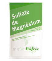 Gifrer Magnésium Sulfate Poudre 50 Sachets/30g à VANNES