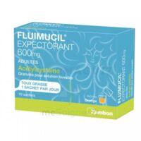 Fluimucil Expectorant Acetylcysteine 600 Mg Glé S Buv Adultes 10sach à VANNES