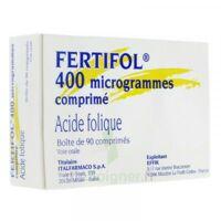 Fertifol 400 µg Cpr Plq/90 à VANNES