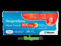 Ibuprofene Mylan Conseil 400mg, Comprimés Pelliculés à VANNES