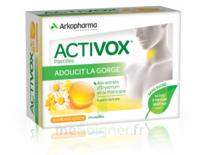 Activox Sans Sucre Pastilles Miel Citron B/24 à VANNES