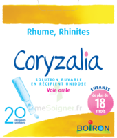 Boiron Coryzalia Solution Buvable Unidose B/20 à VANNES