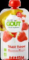 Good Goût Alimentation Infantile Fraise Banane Gourde/120g à VANNES