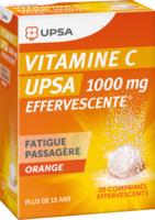 Vitamine C Upsa Effervescente 1000 Mg, Comprimé Effervescent à VANNES