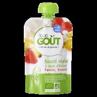 Good Goût Alimentation Infantile Brassé Avoine Fraise Banane Gourde/90g à VANNES